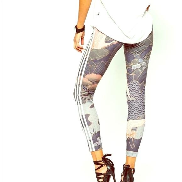50f3f54e543 adidas Pants | Originals X Rita Ora Kimono Leggings Xs | Poshmark